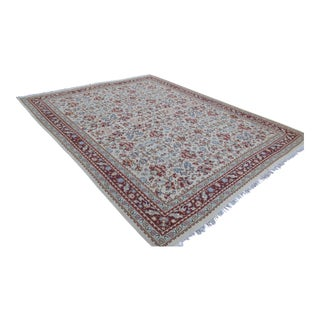Palace Sized Hand Woven Kilim Bulgarian Rustic Rug - 13′2″ X 16′1″