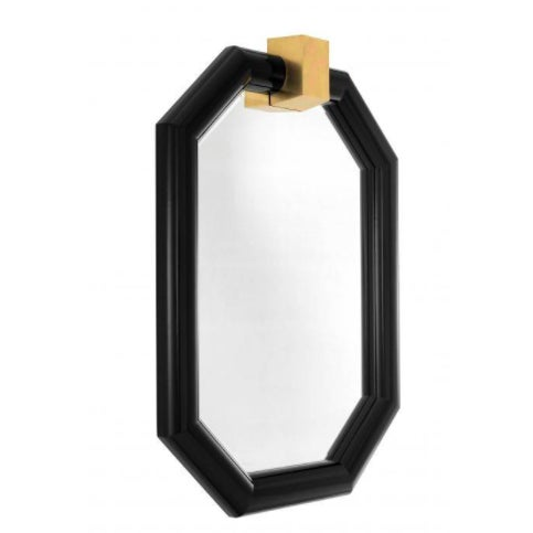 Dress up your hallway, lounge, bedroom or bathroom with the octagonal Arno Mirror. Featuring a beautiful black frame with...