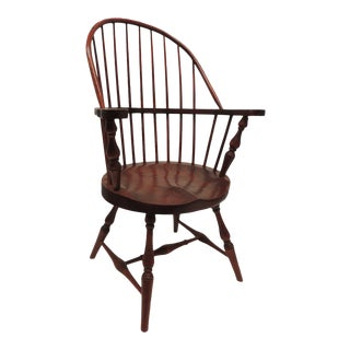 Vintage Child's Windsor Arm Chair For Sale
