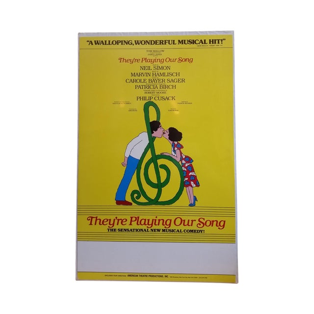 1970s Museum Mount Neil Simon Musical Poster - Image 1 of 5