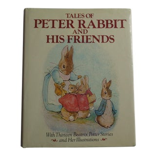 "Vintage Children's Book ""Tales of Peter Rabbit and His Friends"""