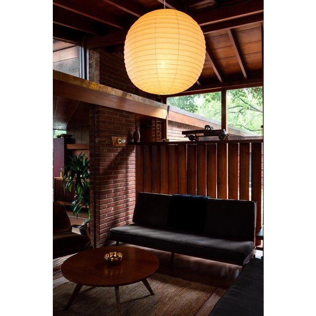 Akari Isamu Noguchi Akari Model 70f Sculptural Light For Sale - Image 4 of 6