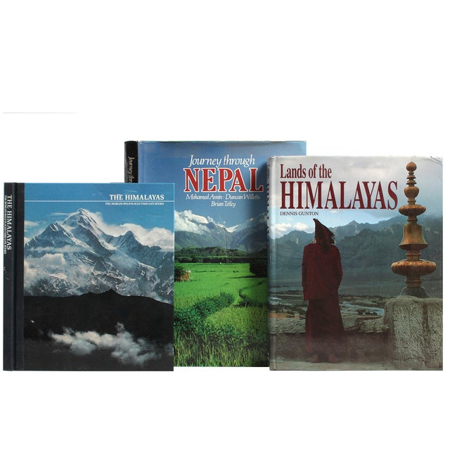 The Mystical Lands of the Himalayas, S/7. Seven vintage volumes feature selections highlighting the land of Tibet and the...