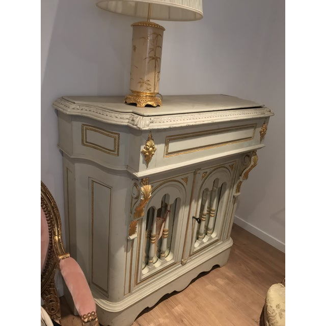 Antique Napoleon III Console For Sale In New Orleans - Image 6 of 9