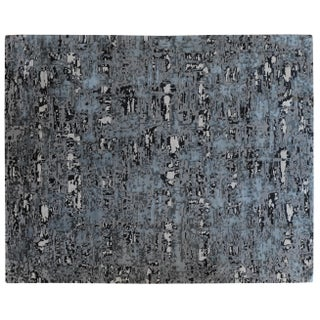 Stark Studio Rugs Contemporary New Oriental Tibetan Silk Rug - 8′ × 10′ For Sale