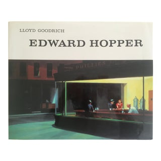 """Edward Hopper"" Vintage 1993 Oversized Xlrg Collector Art Book For Sale"