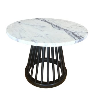 Contemporary Tom Dixon Fan Base Side Table For Sale