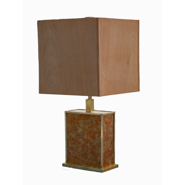 Mica Glam Table Lamp For Sale In New York - Image 6 of 7
