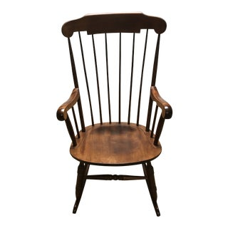 Nichols and Stone Wood Rocker For Sale