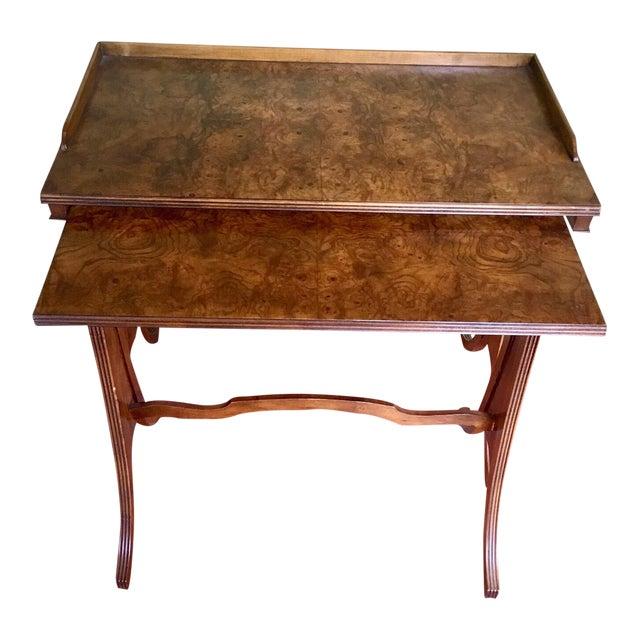 Baker Furniture Nesting Tables - Set of 2 For Sale