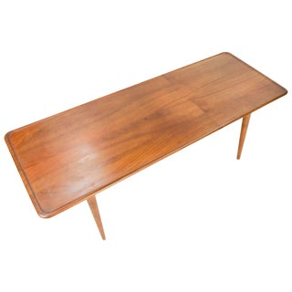 Hans Wegner's Curved Edge Coffee Table for Andreas Tuck of Denmark For Sale