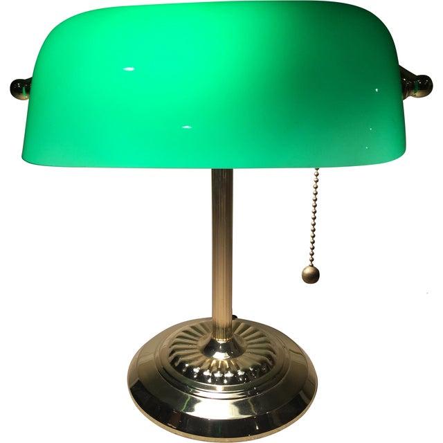 Retro Inspired Brass Desk Lamp - Image 1 of 7