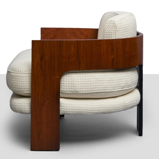 Mid-Century Modern Milo Baughman – Low Club Chair For Sale - Image 3 of 9