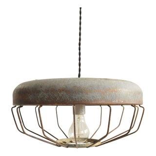 Antique Chicken Feeder Pendant Lamp II