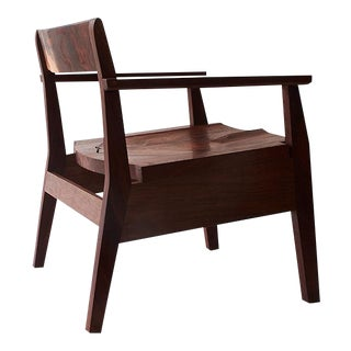 Sawyer Club Chair by Fern Handcrafted For Sale