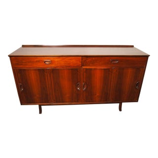 Mid-Century Danish Rosewood Credenza For Sale