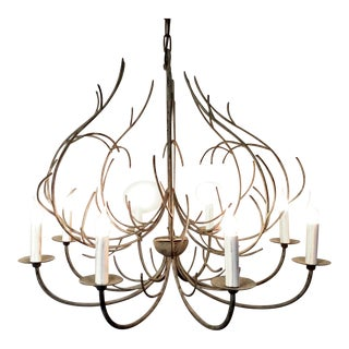 Modern French Iron Branches Chandelier For Sale
