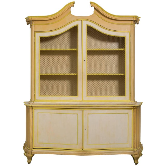 Large Italian Painted Cabinet Once Owned by Elizabeth Taylor For Sale In New York - Image 6 of 6