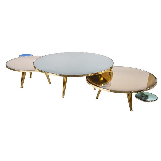 Riflesso Coffee Tables - Set of 3 For Sale - Image 11 of 13