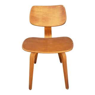Mid Century Modern Side Chair by Thonet For Sale