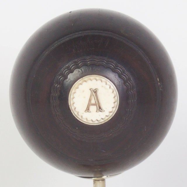 Anthony Redmile Antony Redmile Mounted Lawn Bowling Ball For Sale - Image 4 of 8