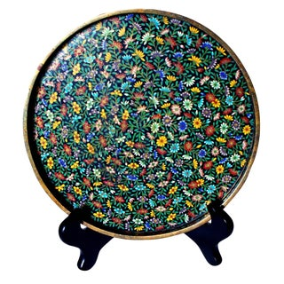 1900 Antique Cloisonne Tray