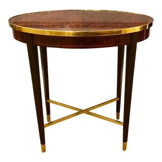 Henredon Crossroads Oval End Table