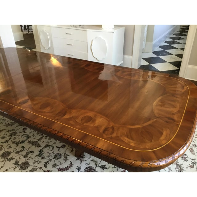 Brown Alfonso Marina Spanish Wood Dining Table For Sale - Image 8 of 12