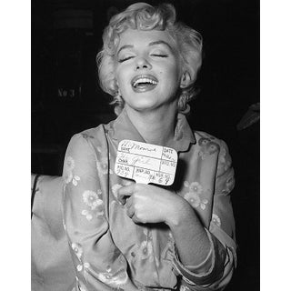 """1954 Marilyn Monroe for """"The Seven Year Itch"""" Hair, Makeup and Costume Test (11x14 Canvas) For Sale"""