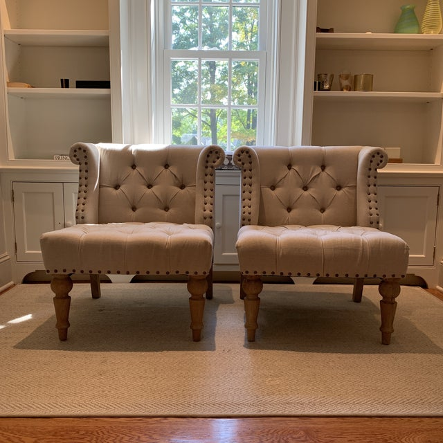 Lillian August Townsend Chairs - A Pair For Sale In New York - Image 6 of 6