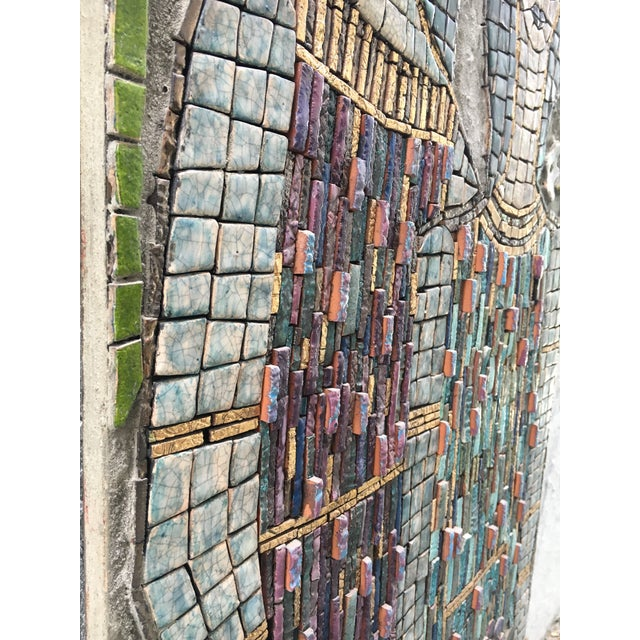 Figurative Mosaic Wall Piece For Sale In Miami - Image 6 of 8