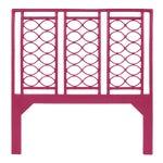 Infinity Headboard Queen - Bright Pink