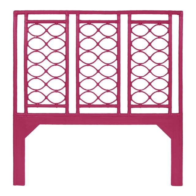 Infinity Headboard Queen - Bright Pink For Sale