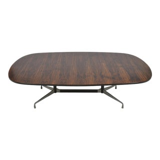 Eames 8 Foot Rosewood Dining Table by Herman Miller For Sale