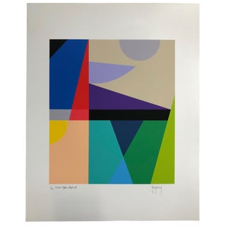 Limited Edition Signed Modern Art Print by Tony Curry