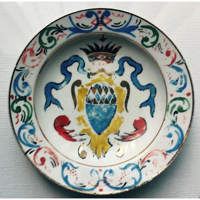 5 Vintage Florentine Trinket Dishes For Sale - Image 4 of 10