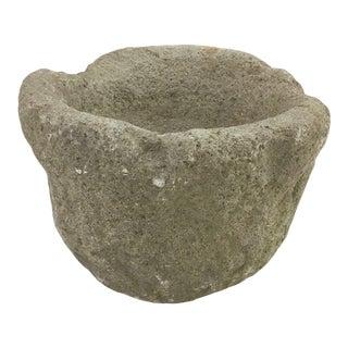 Antique Stone Mortar For Sale