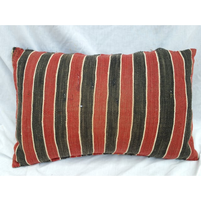 Turkish Tribal Hand Worked Pillow - Image 6 of 6