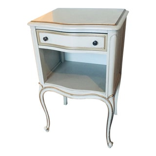Vintage French Side Table Nightstand For Sale