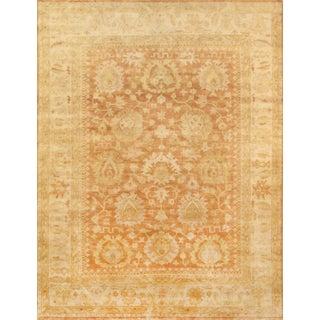 """Oushak Handmade Area Rug - 12'1"""" X 14'8"""" For Sale"""