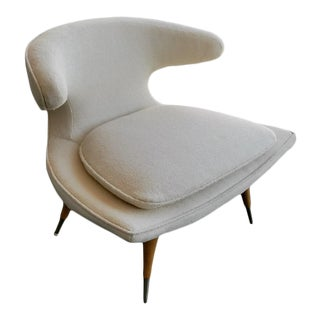 1950s Mid-Century Modern Karpen of California Horn Chair For Sale
