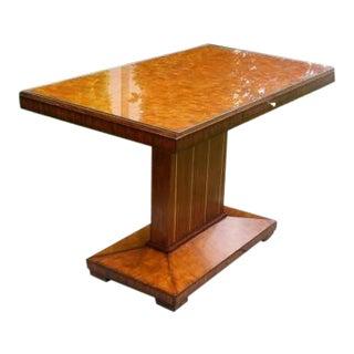 Art Deco Maitland Smith Foyer Table For Sale
