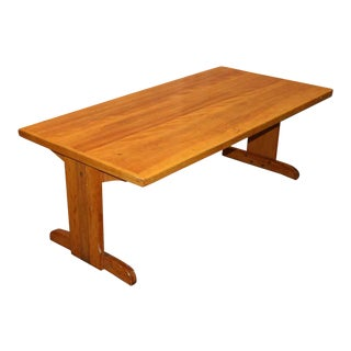 Five Foot Wooden Work Table For Sale