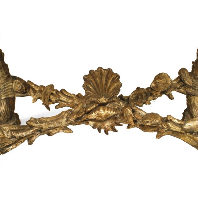 Venetian Grotto Style Console Table, Attrib: Pauly Et Cie, Venice For Sale In New York - Image 6 of 7