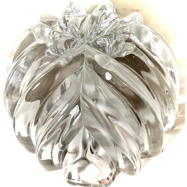 1970s Orrefors Swedish Signed Crystal Isabella Bowl For Sale - Image 10 of 12