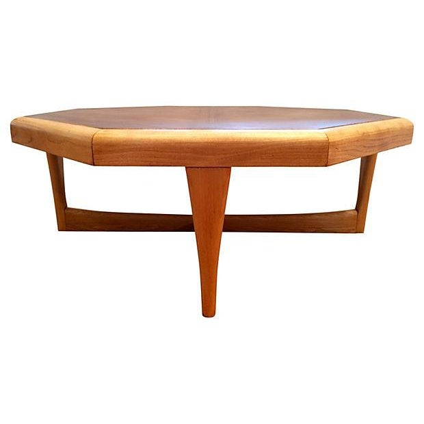 Lane Furniture Octagonal Coffee Table - Image 4 of 5