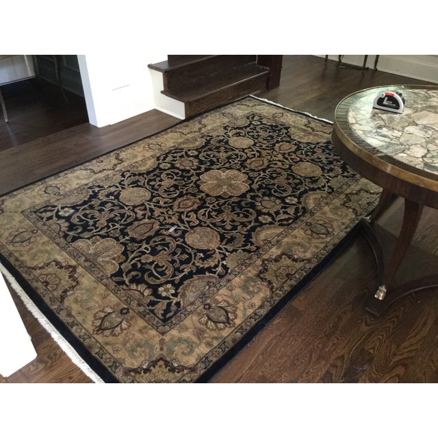 Ethan Allen Rug - 5′10″ × 8′9″ For Sale In Kansas City - Image 6 of 7