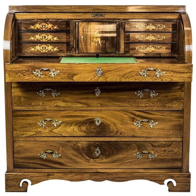 Elm Secretary Desk, circa the 19th Century For Sale - Image 13 of 13