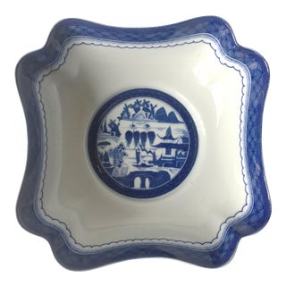 "Mottahedeh 9""Canton Style Centerpiece Bowl-Historic Charleston"