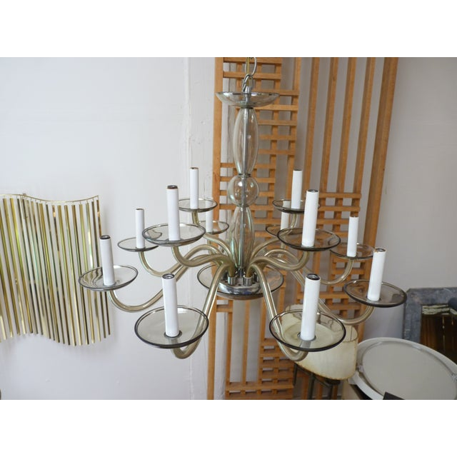 Murano Chandelier c.1960's - Image 4 of 4